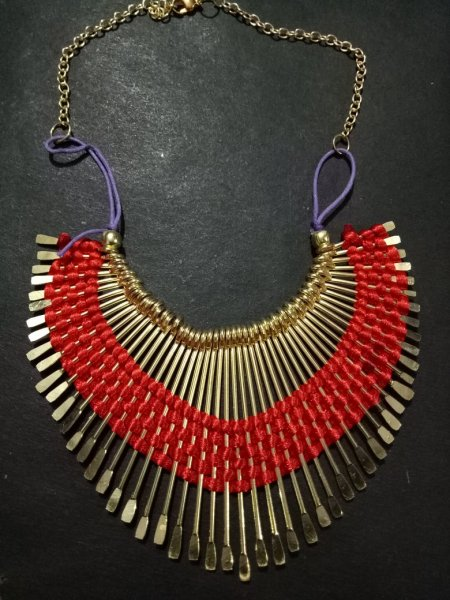 Traditional Tribal Spike Necklace