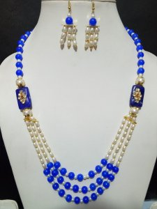 Trendy Pearl Mala Set
