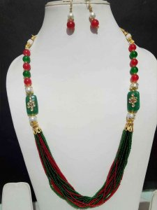 Partywear Cheed Mala Set
