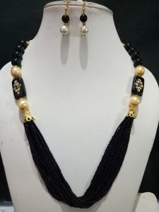 Designer Handmade Cheed MALA Set
