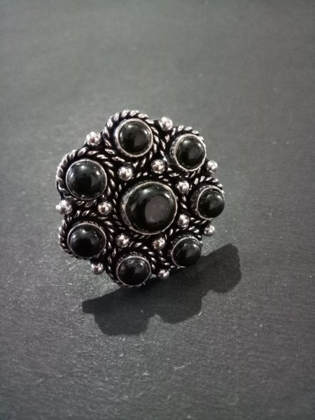 Charming Adjustable Stone Ring