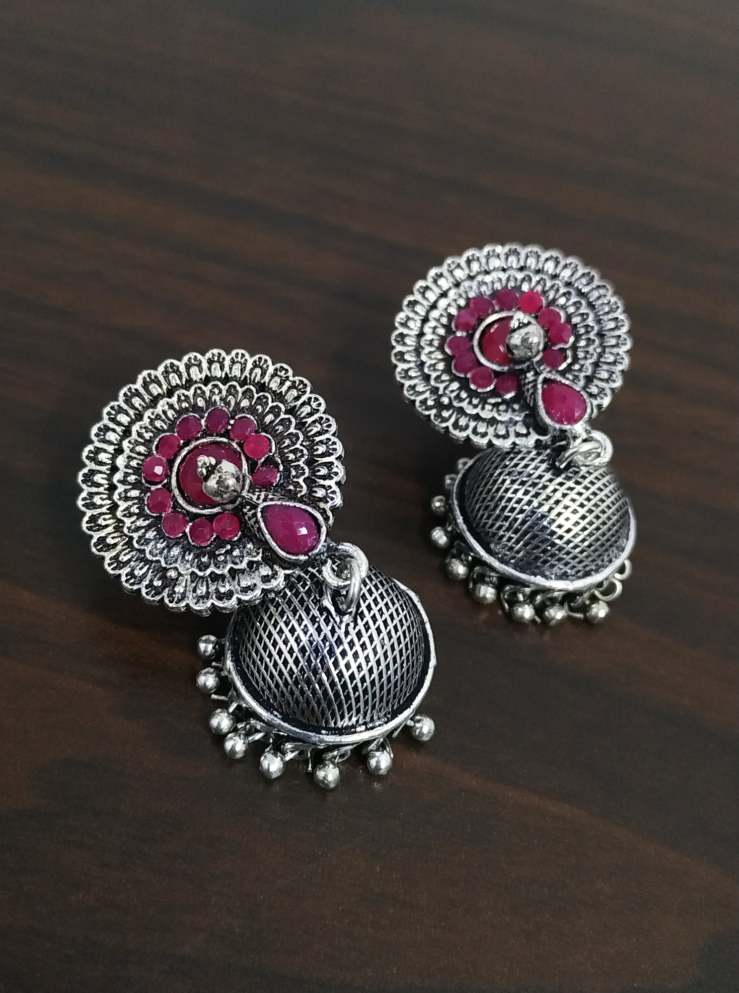 Stylish Peacock Jhumki