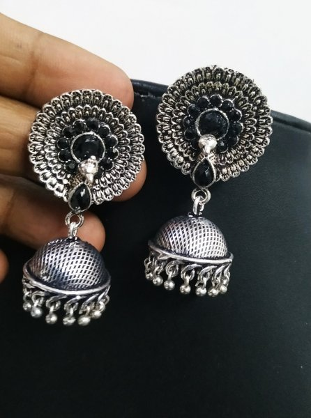 Trendy Peacock Jhumki