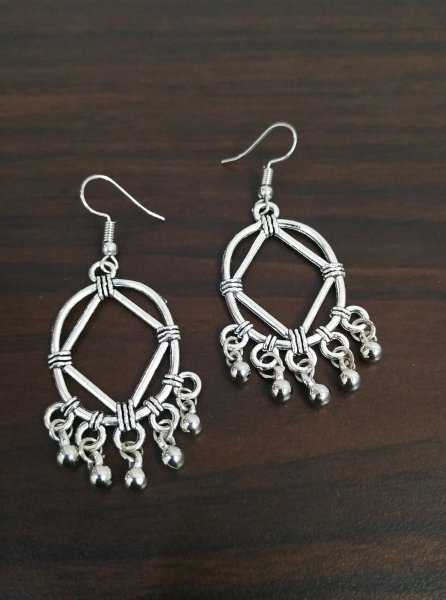 Designer Oxidised Earrings