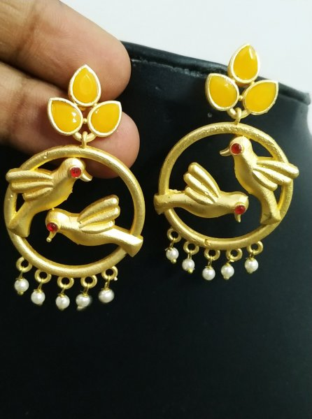 Pretty Parrot Earrings