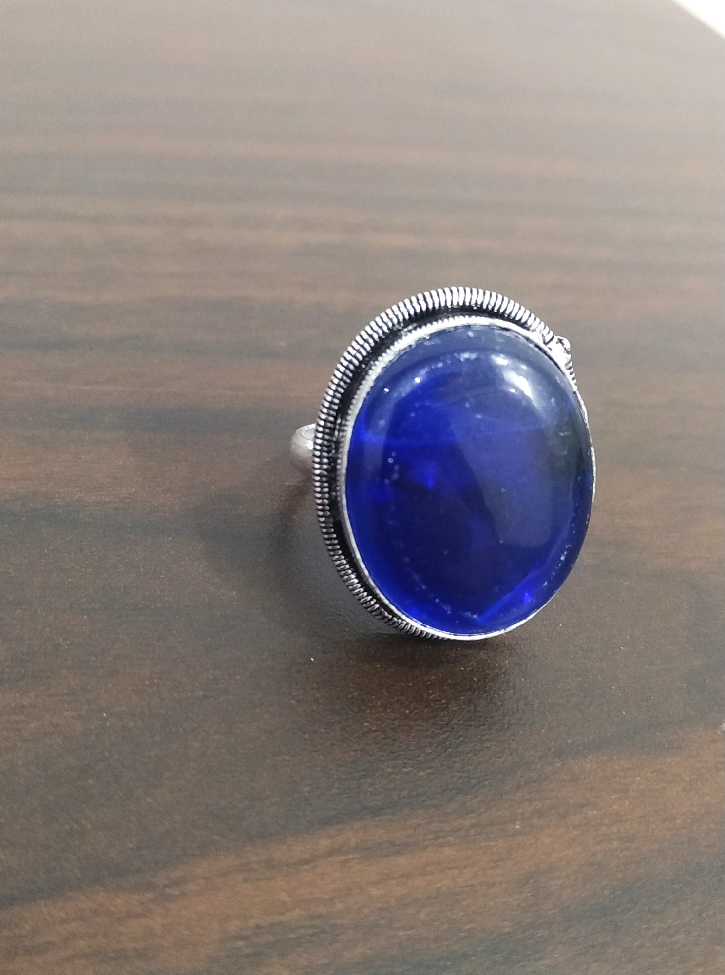 Elegant Stone Cocktail Ring