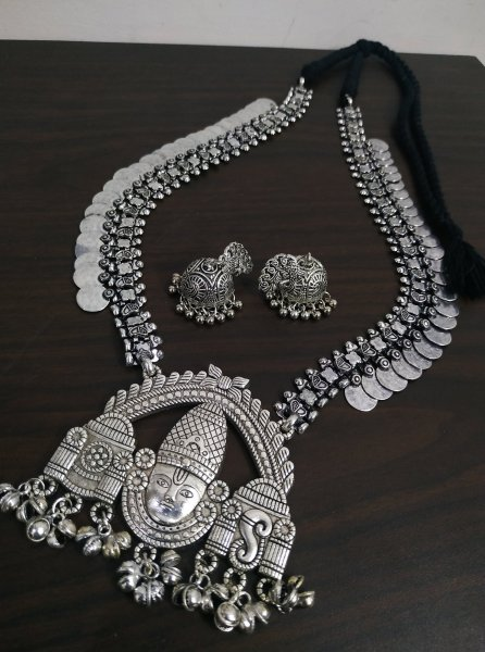 Exclusive Temple Long Necklace Set
