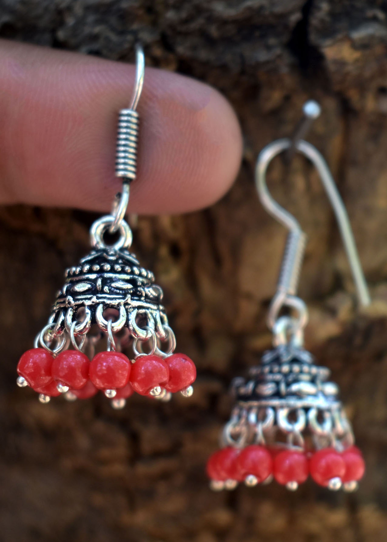 Awesome Oxidised Jhumki