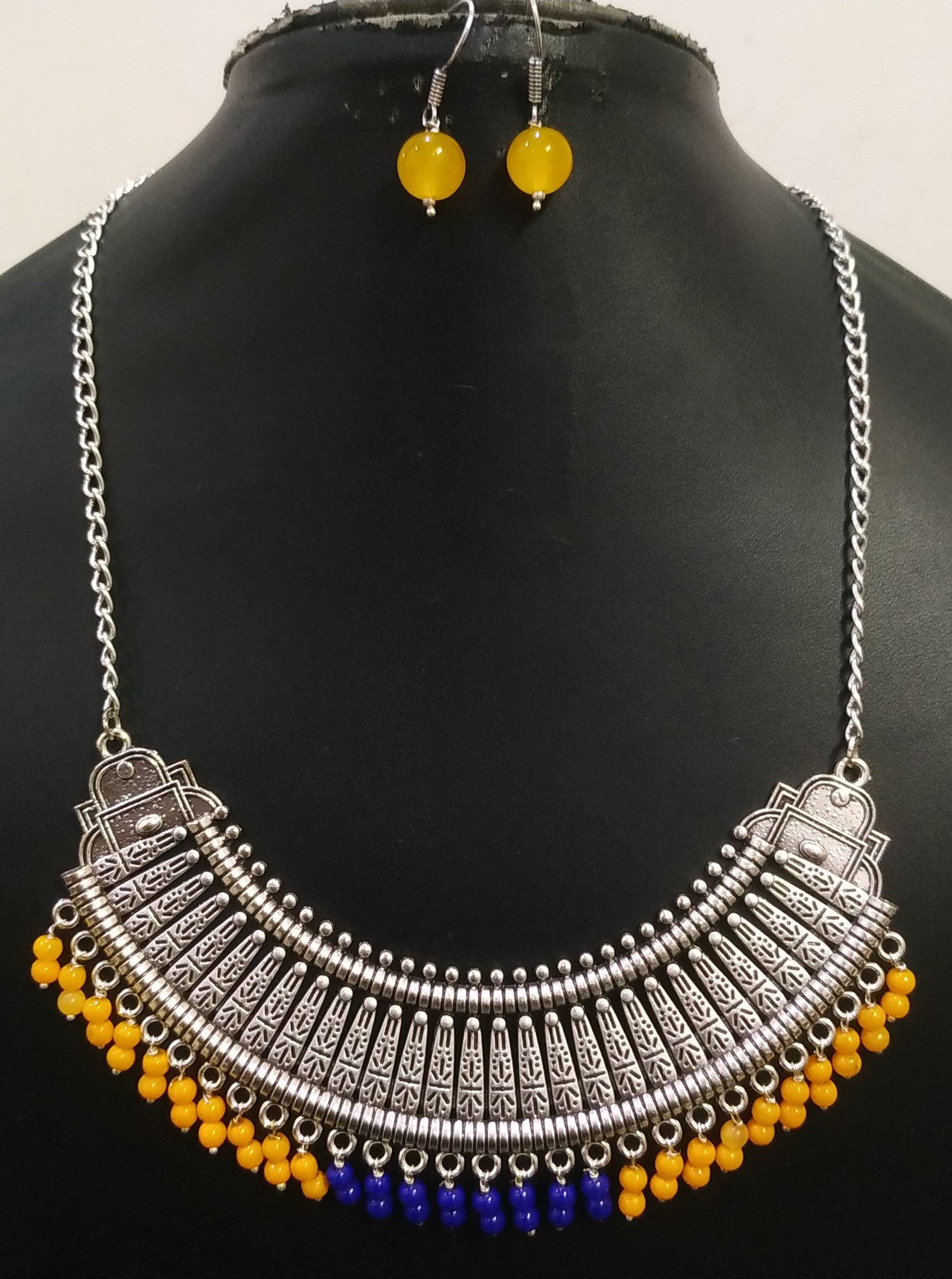 Beautiful Partywear Ethnic Long Necklace Set