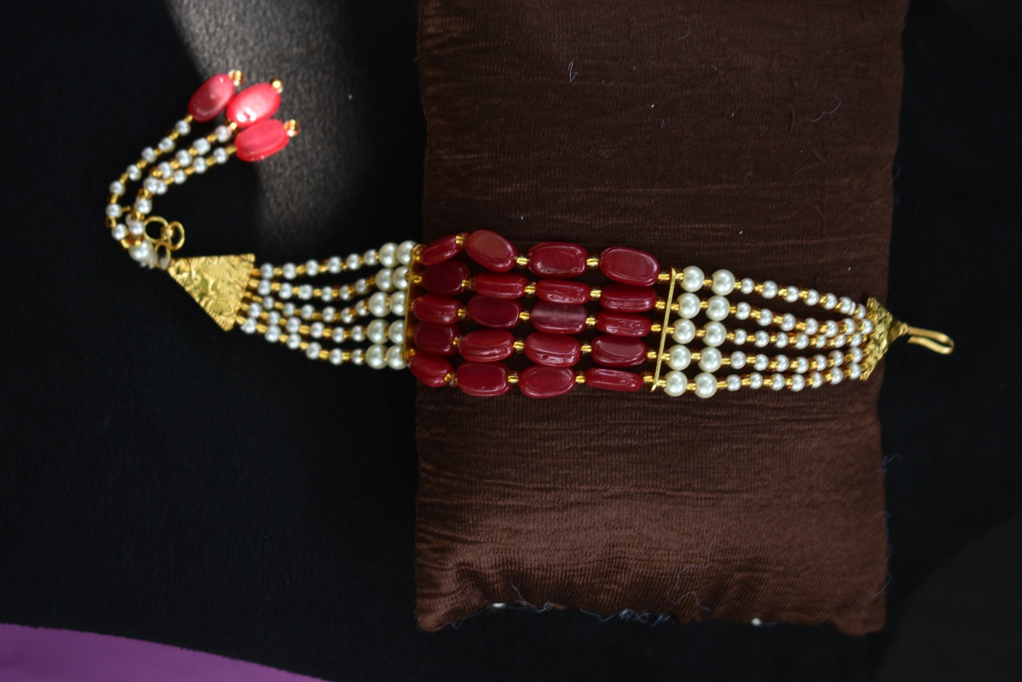 Attractive Partywear  Pearls & Beads Bracelets