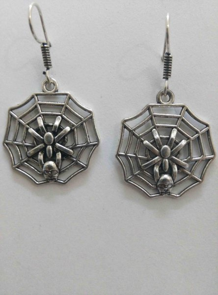 Funky Spider Earrings