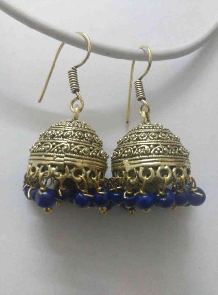 Designer Beads Partywear Earrings