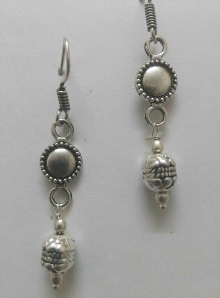Alloy Long Earrings