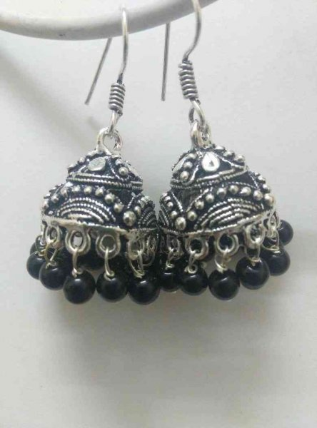 Classic Partywear Jhumki Earrings