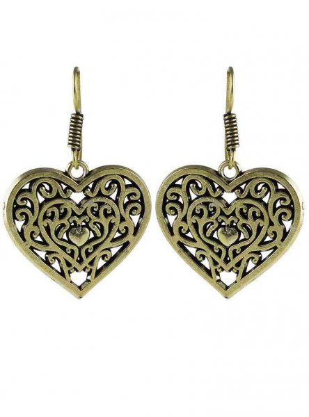Traditional  Heart Earring