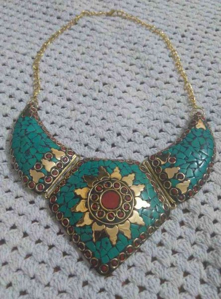 Royal Nepali Stone Necklace