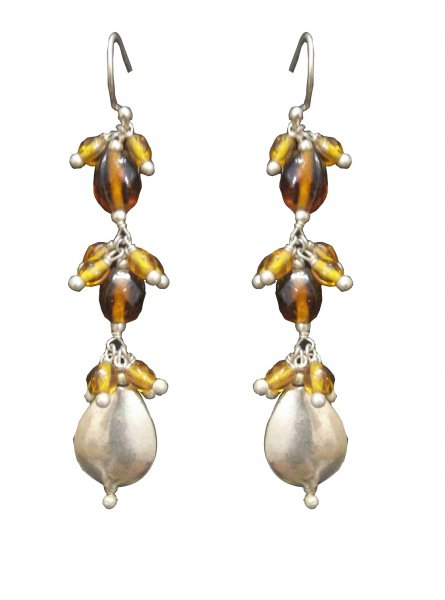 Stylish Latkan Beads Earrings