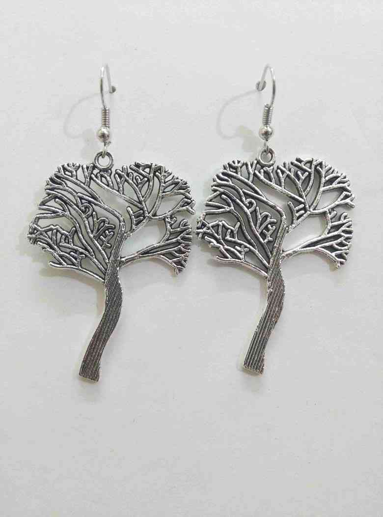 Beautiful Oxidised Tree Earring
