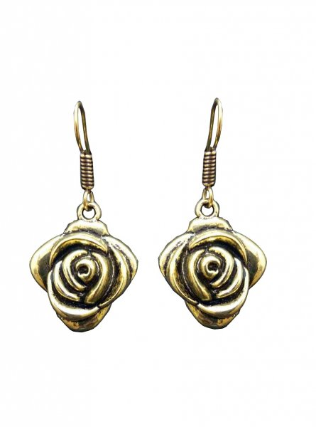 Stylish Golden Flower Earring