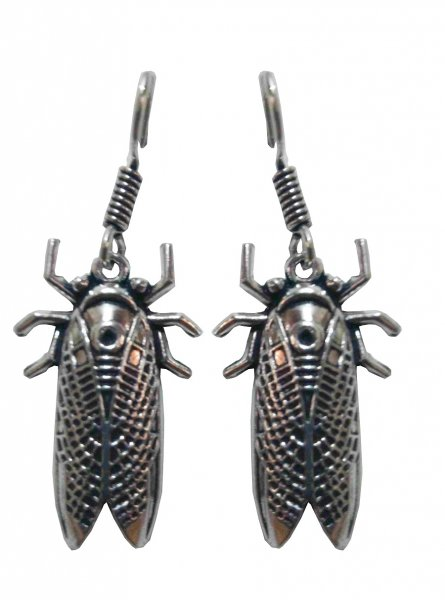 Designer Cockroach Shape Earrings