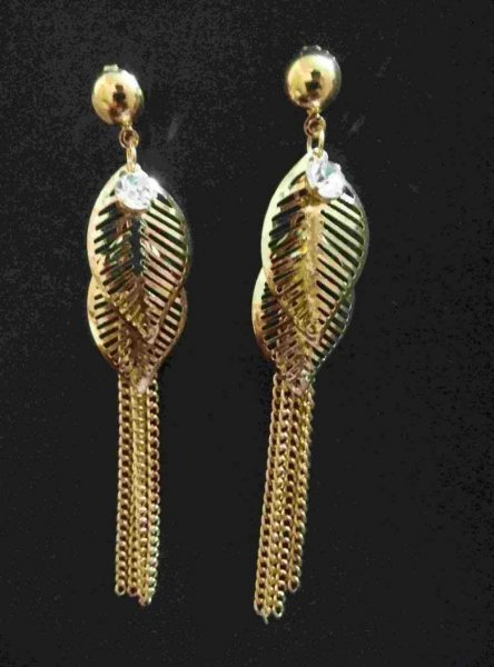 Designer Golden Earrings