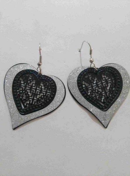 Heart designer Earrings
