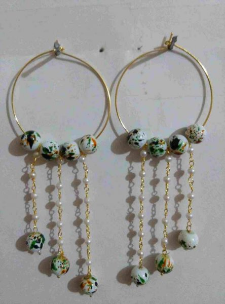 Partywear Beads Earring