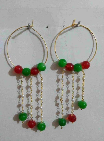 Mutli Beads Earring