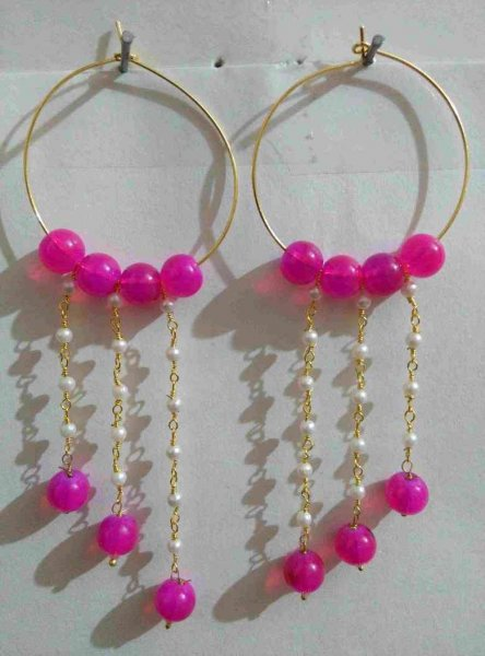 Beads Partywwear Earring