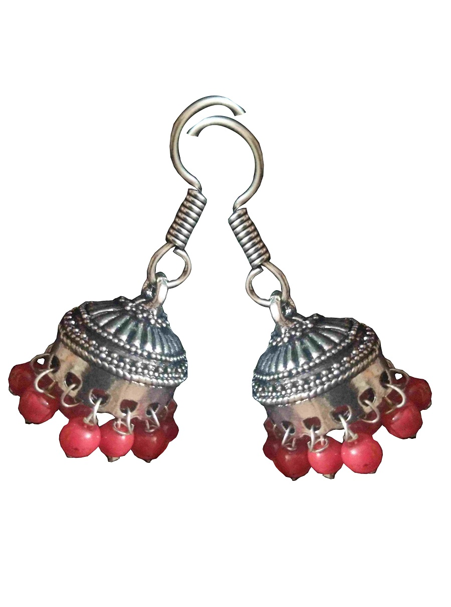 Beads Jhumka Earring