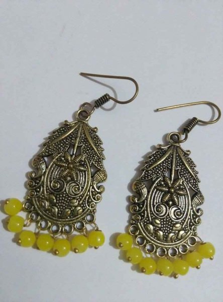 Designer Beads Earring