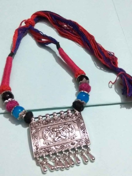 Rajasthani Thread Necklace