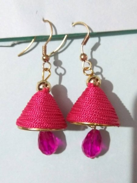 Gracious Threaded Dangle Earring