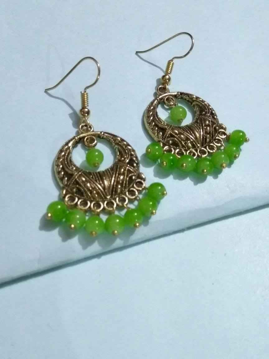 Stunning Beaded Chic Earring