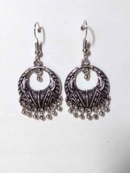 Ethnic Oxidised Earring