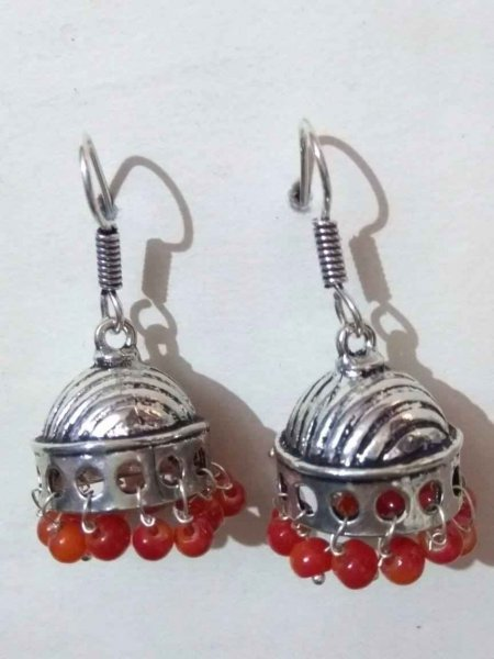 Trendy Alloy Beaded Jhumki