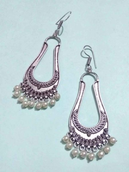 Dazzling Beaded Earring