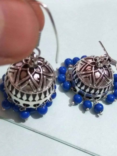 Stylish Beads Jhumka