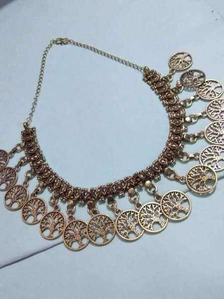 Tree Designer Partywear Necklace