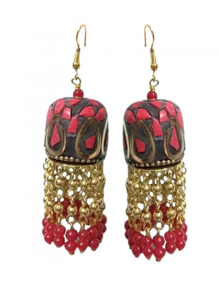Antique Partywear Nepali Earring