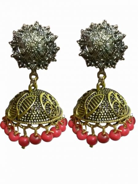 Handicrafted Golden Earring
