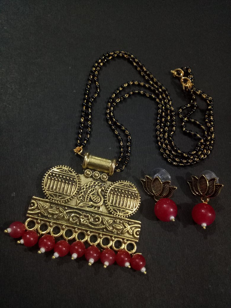 Antique Partywear Mangalsutra Set