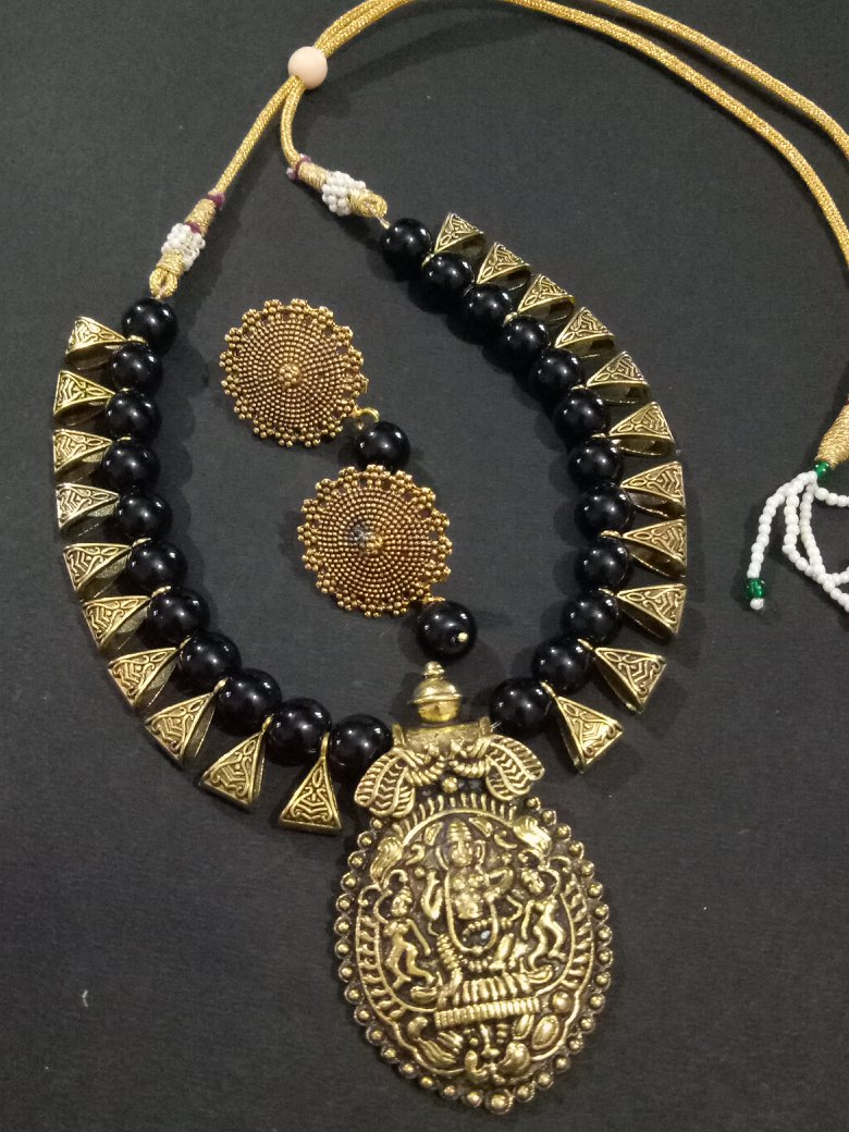 Magnificent Goddess Temple Necklace Set