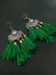 Deisgner Antique Tussel Earrings