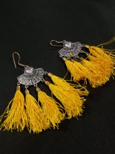 Gorgeous Tussel Earrings