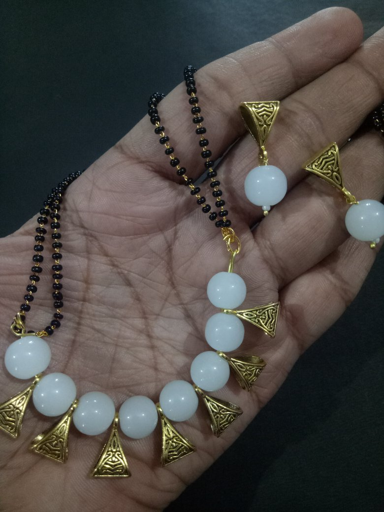 Ethnic Handcrafted Mangalsutra Set