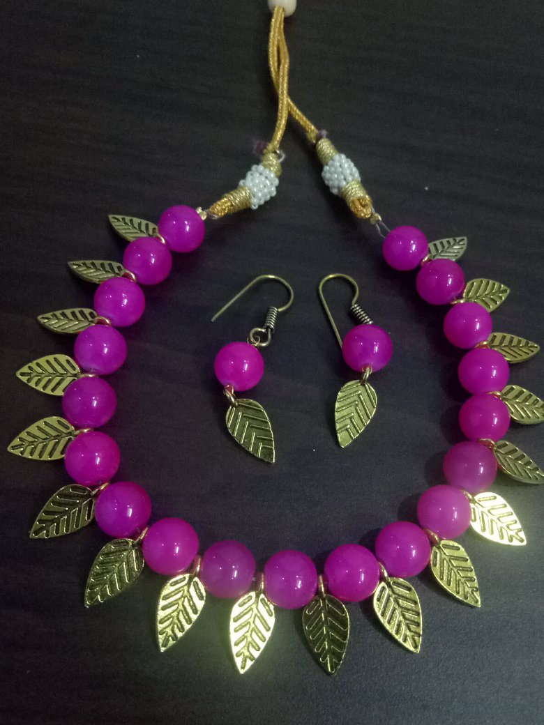 Ravishing Beads Necklace Set