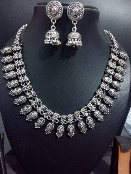 Ethnic kolhapuri necklace set