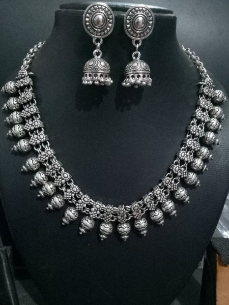Beautifull handmade kolhapuri necklace set