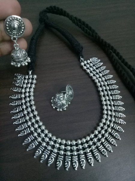 Royal Ball Chain Necklace Set